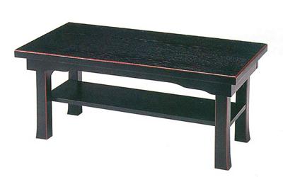 新二月堂机(タナ付)[黒塗面朱]板バネ式(サイズは3種類)の写真
