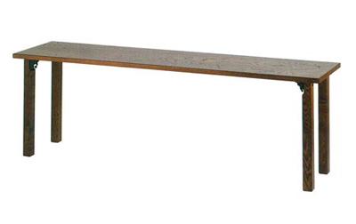 背高極上法事机[欅調][折畳式]サイズは2種類の写真