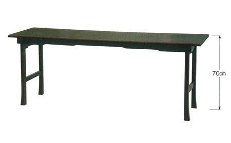 背高二月堂机PART�U[黒塗面朱][アーム金具式]の写真