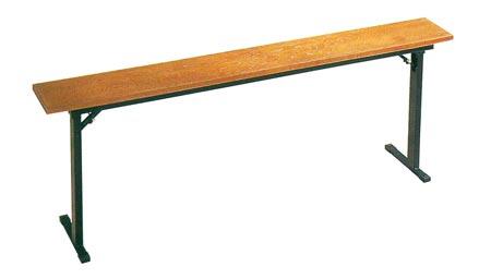 スチール製本堂お詣り机[欅調][折畳式]サイズは2種類の写真