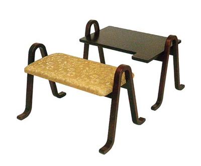 雲居 御詠歌用机・椅子セットの写真
