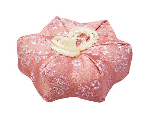かのん六角布団【ピンク】(サイズは5種類)の写真