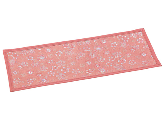 かのん 上置用経敷(難燃金襴)【ピンク】(サイズは3種類)の写真
