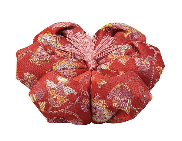 飛鳥花布団[花かずら]【エンジ】(サイズは5種類)の写真