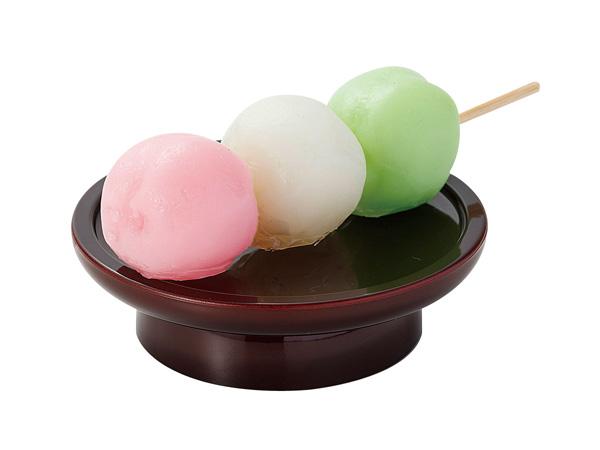 お供え菓子【三色だんご】※イミテーションの写真