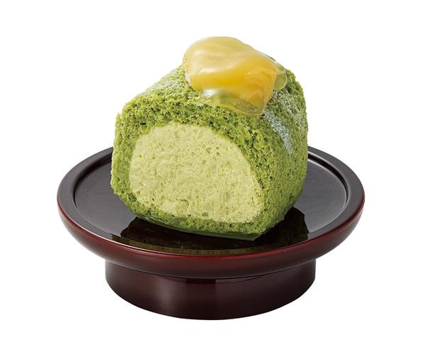 お供え洋菓子【抹茶ロール】※イミテーションの写真