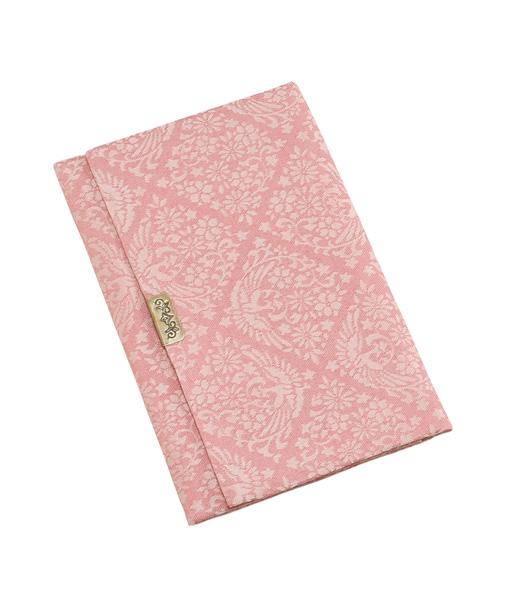 古渡り緞子(こわたりどんす)念珠袋【ピンク】の写真