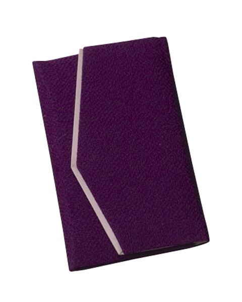 念珠入ふたえちりめん【紫】の写真