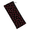 印伝調 ペンケース型 念珠袋【赤トンボ柄】の写真
