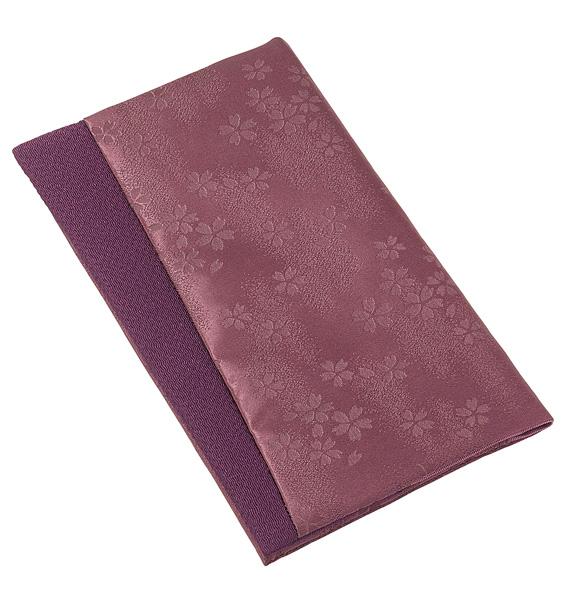金封・念珠入れ ジャガード【紫】の写真