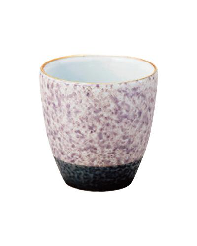 乱舞(らんぶ)茶湯器【有田焼】[パープル釉吹き]の写真
