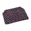 印伝調ファスナー付念珠袋[小桜ピンクジ]の写真