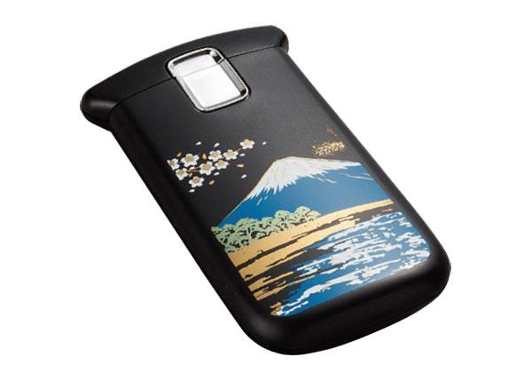 蒔絵ポケットルーペLEDライト付【富士山】(木箱入り)の写真