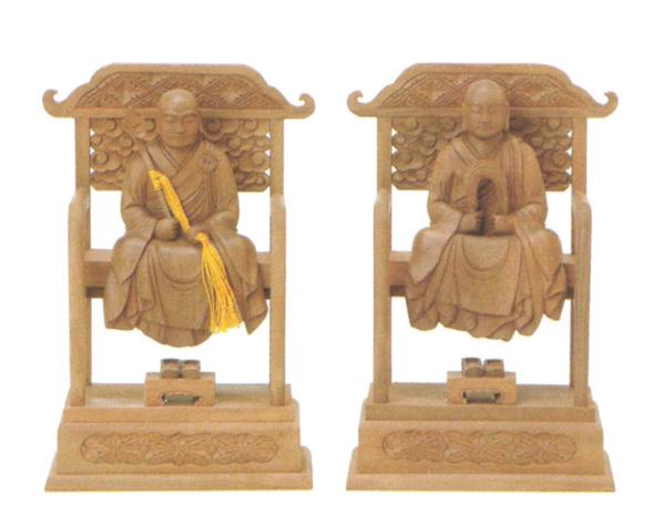 仏像 白檀 【太祖・高祖】(サイズ2種類)の写真