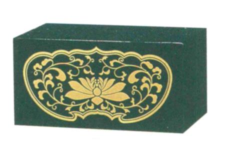 仏像台 PC 四角箱台 黒または朱 (サイズ4種類)の写真