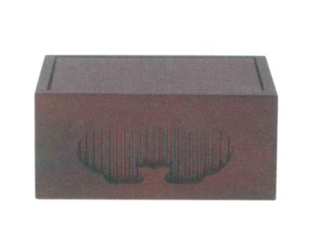 仏像台 四角箱台  紫檀または黒壇 (サイズ3種類)の写真