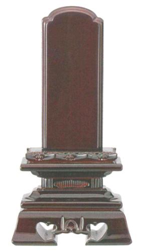 位牌 紫壇 呂色仕上 勝美楼門(サイズ5種類)の写真