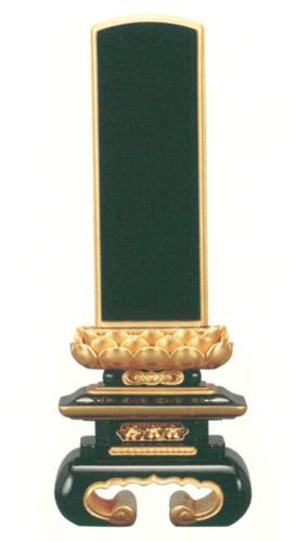 位牌 純面粉 金吹蓮華 上京中台 巻足(サイズ7種類)の写真