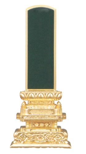 位牌 京形五重座 純三方金(サイズ6種類)の写真