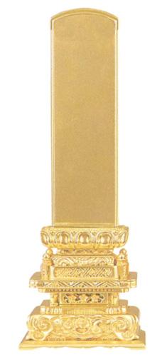 位牌 京形五重座 純総金(サイズ6種類)の写真