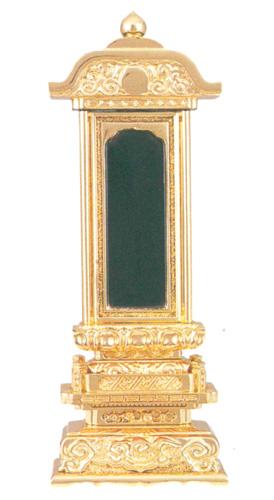 位牌 純三方金 柱付五重座 純三方金(サイズ6種類)の写真